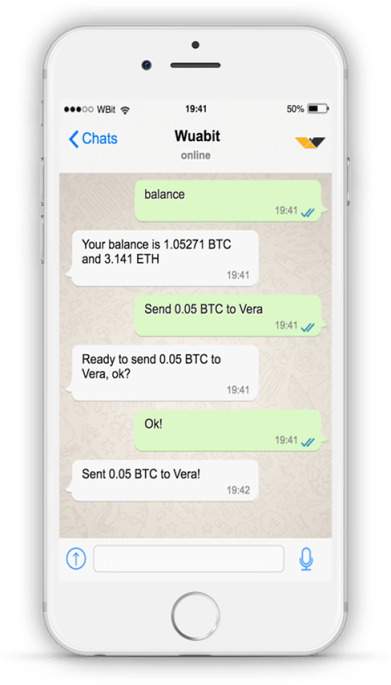 WhatsApp Bitcoin