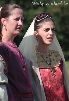 Alamane, VIe siècle à gauche et wisigothe