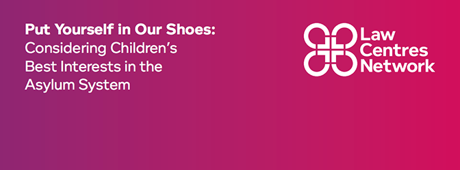 Put Yourself in Our Shoes