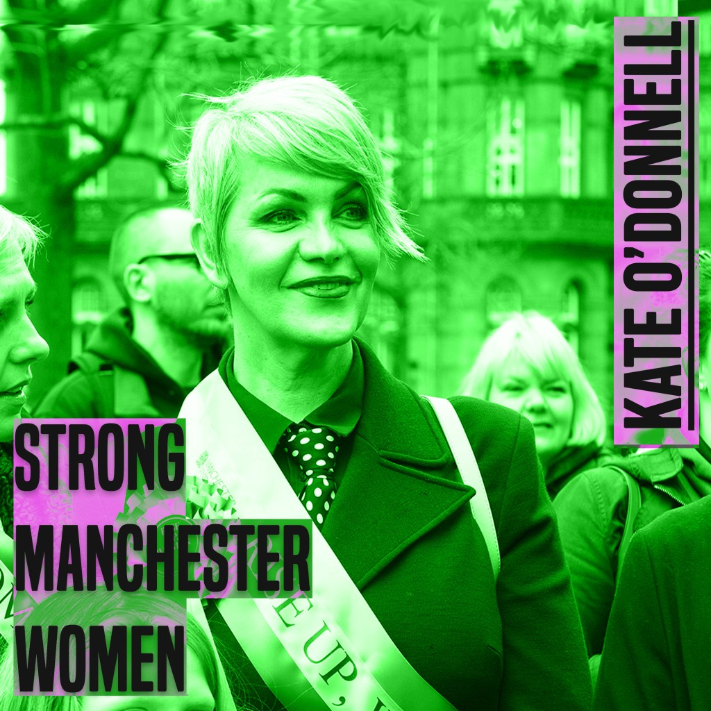 Strong Manchester Women Podcast: Episode 9 – Kate O'Donnell