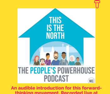Portfolio This is the North podcast logo
