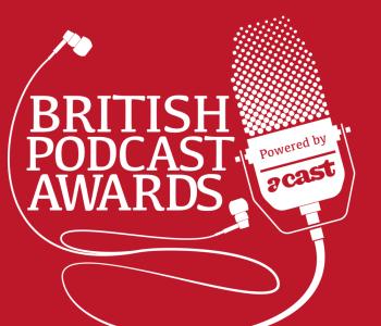 brirish podcast awards logo