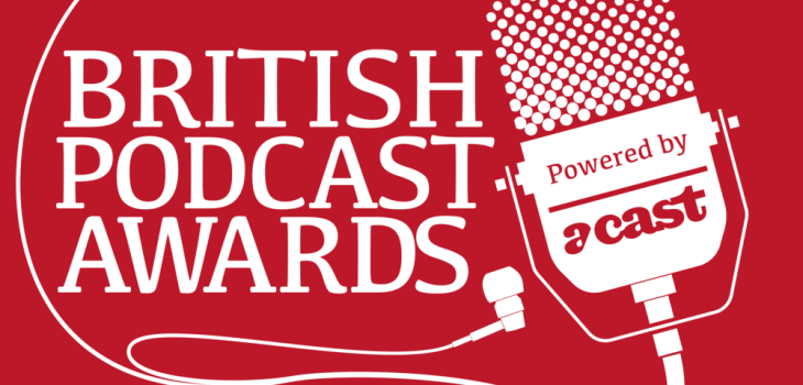brirish podcast awards logo