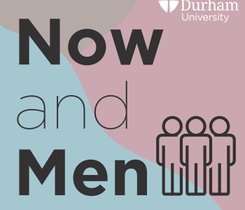 Now and Men podcast logo