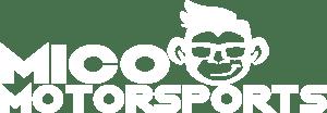 Mico Motorsports White Logo