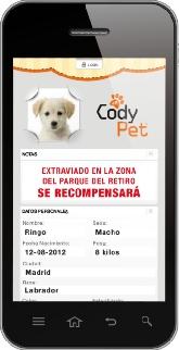 Accede a la información de su mascota desde su Smartphone