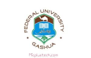 Federal University Gashua, Yobe FUGASHUA Admission List