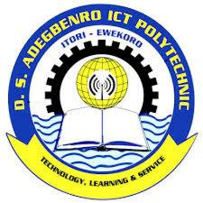 DS Adegbenro ICT Poly Post UTME Screening Form