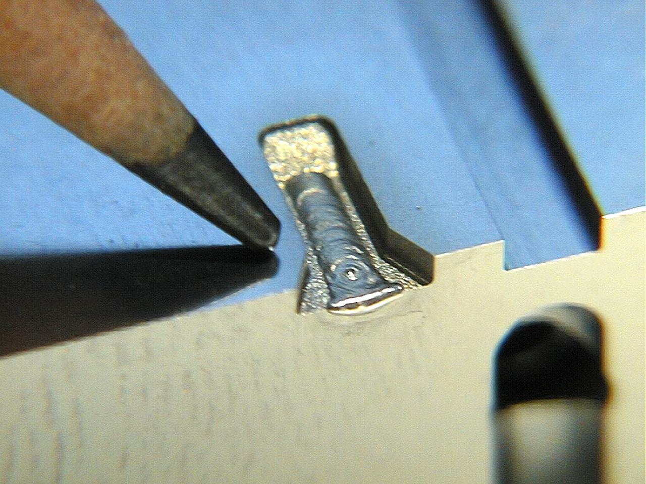 hight resolution of micro welding process