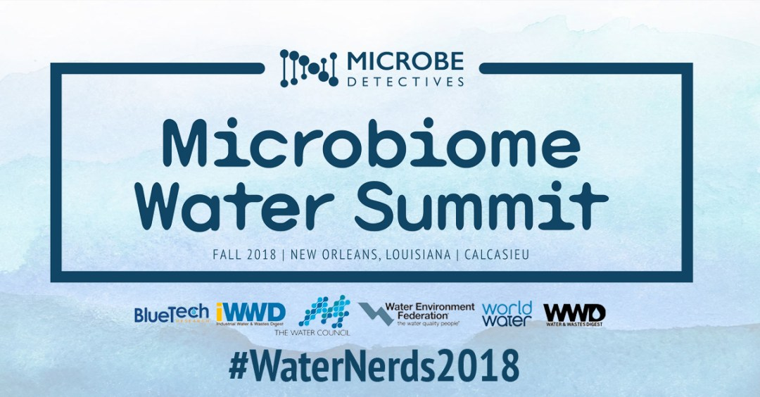 Speakers and Media Partners Selected for the 2018 Microbiome Water Summit