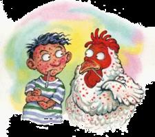 chicken pox cartoon
