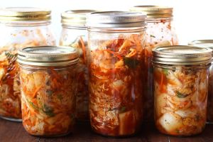 Microbes at work in your kimchi