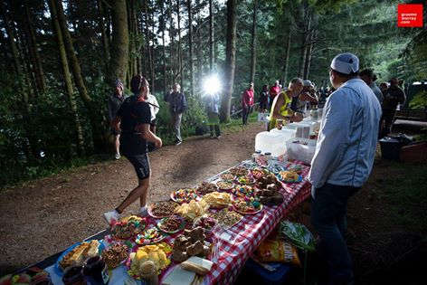 One of the fantastic, and much needed Aid Stations on the Tarawera Ultra