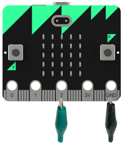 microbit led connections