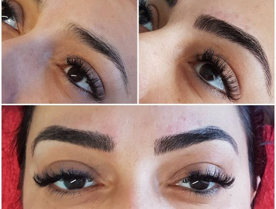 Home Microblade Eyebrow Tattoo Procedure Glasgow