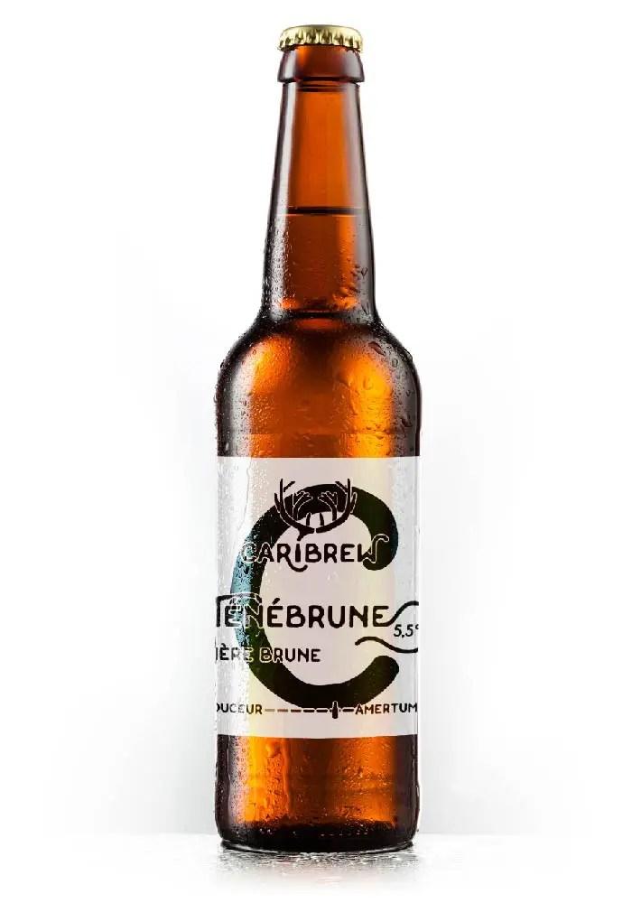 bière Ténébrune - Microbrasserie Caribrew,  biere artisanale