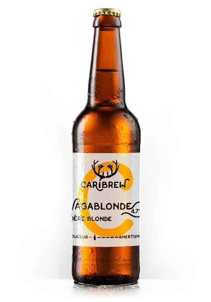 bière Vagablonde - Microbrasserie Caribrew, biere artisanale