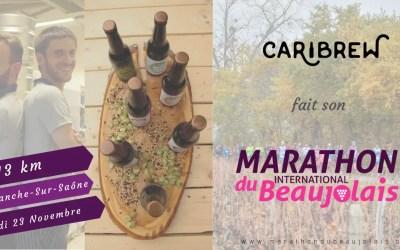 courez les 13 km du beaujolais avec caribrew
