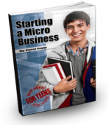 Starting a Micro Business for Teens Book