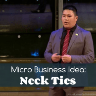 Micro Business Idea: Neck Ties
