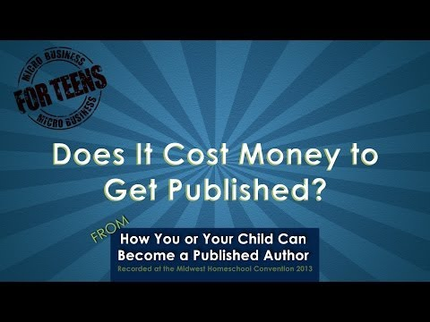 Video: Does It Cost Money To Get Published?