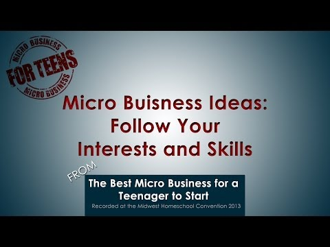 Video: Follow Your Interests & Skills