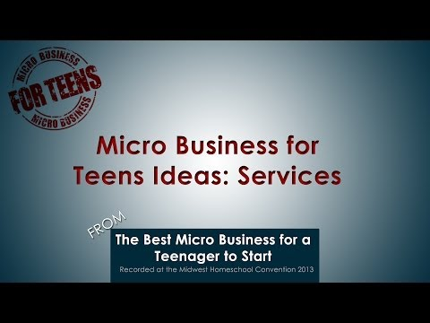 Video: Micro Business Idea – Services