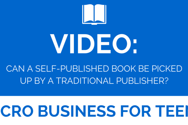 Video: Can a Self Published Author Be Picked up by a Traditional Publisher?