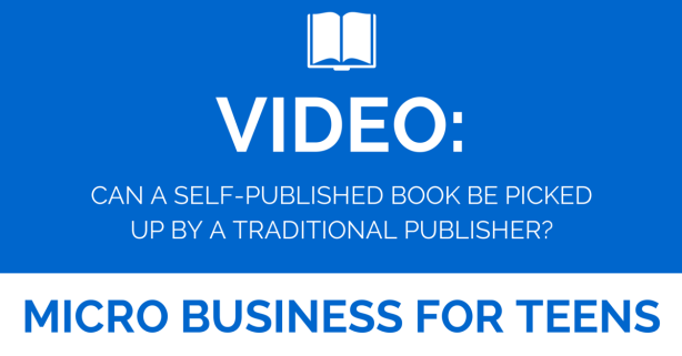 Video Can A Self Published Author Be Picked Up By a Traditional Publisher?
