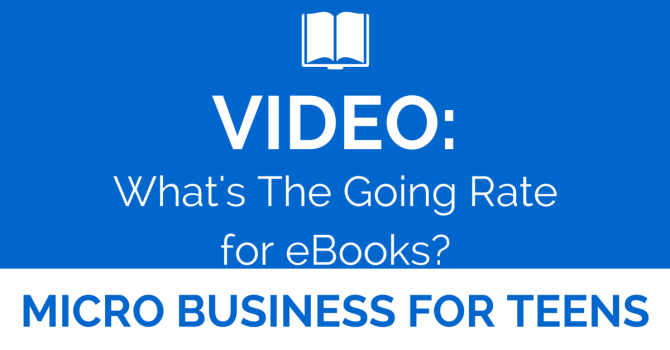 Video: What's The Going Rate for eBooks?