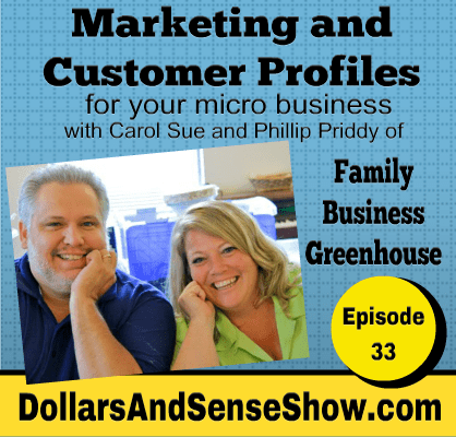 How to find your customers. Marketing and creating a customer profile podcast