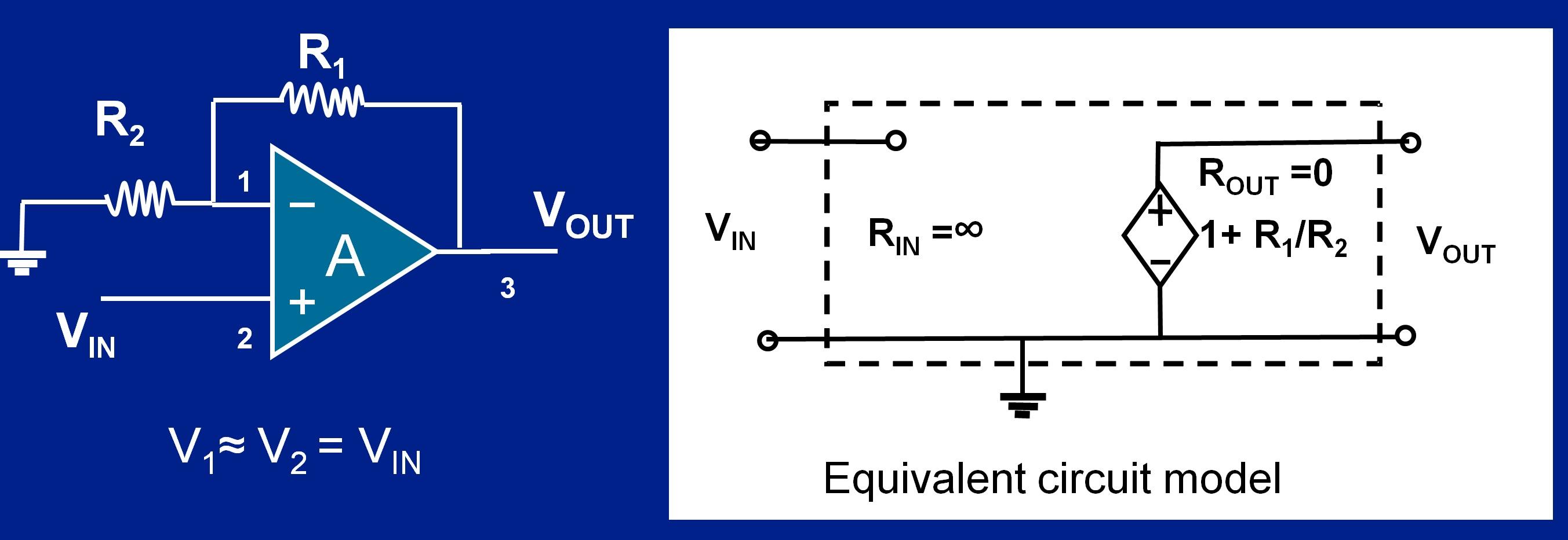 circuit diagram of non inverting amplifier toyota wiring amplifiers developer help opamp model jpg
