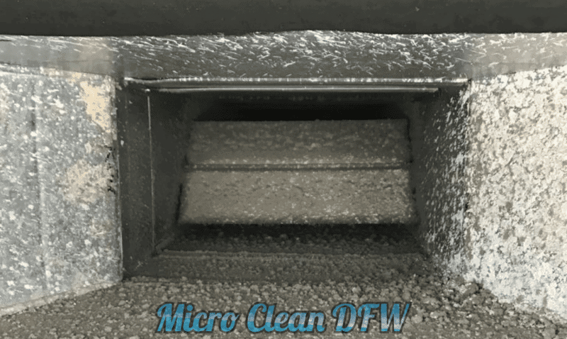 Micro Clean DFW - Duct Cleaning Images - Before