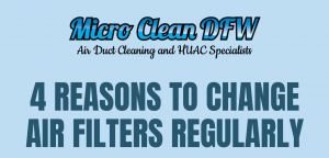 4 Reasons to Change Air Filters Regularly