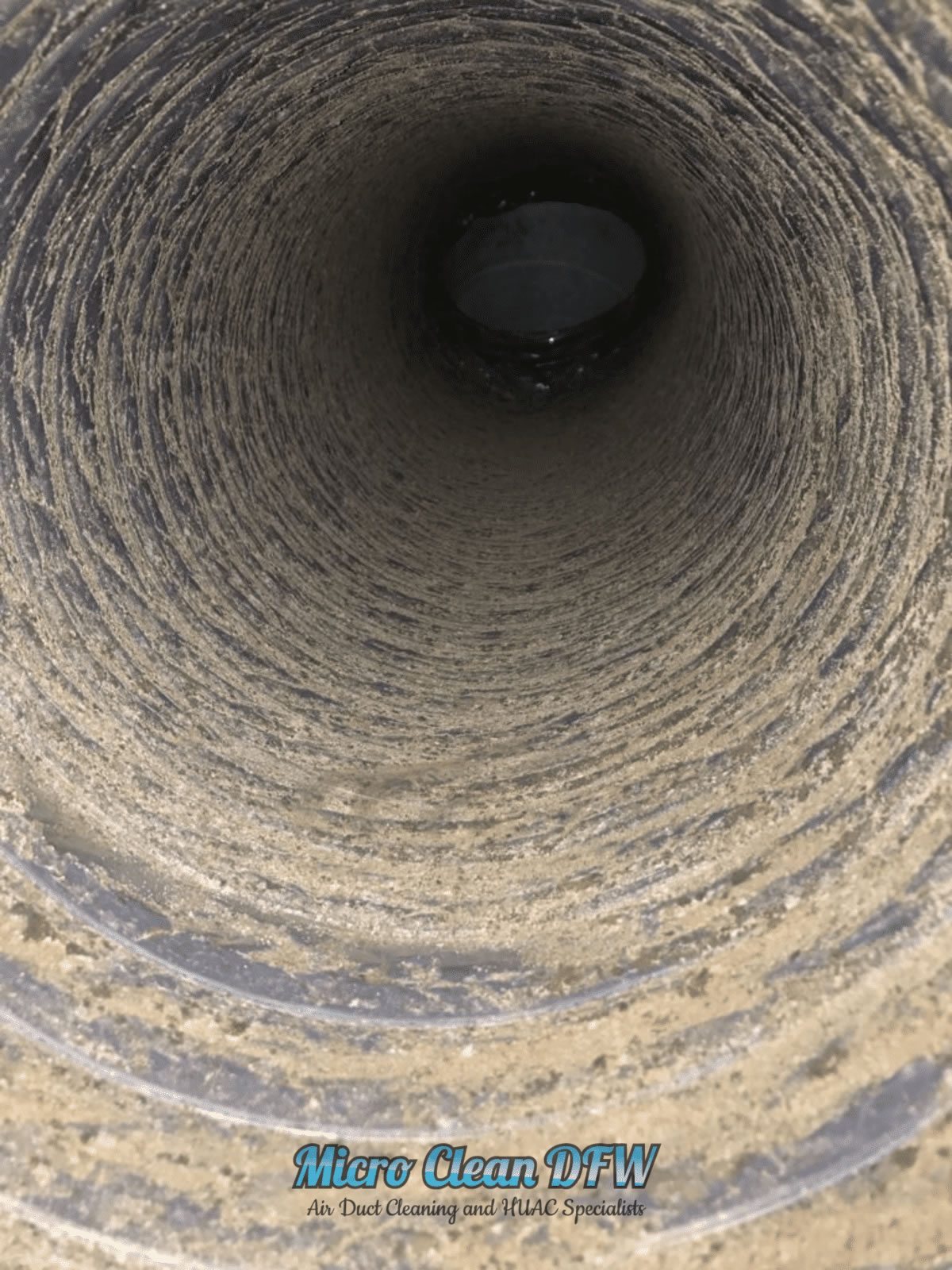 Micro Clean DFW - Commercial Air Duct Cleaning Images - Before