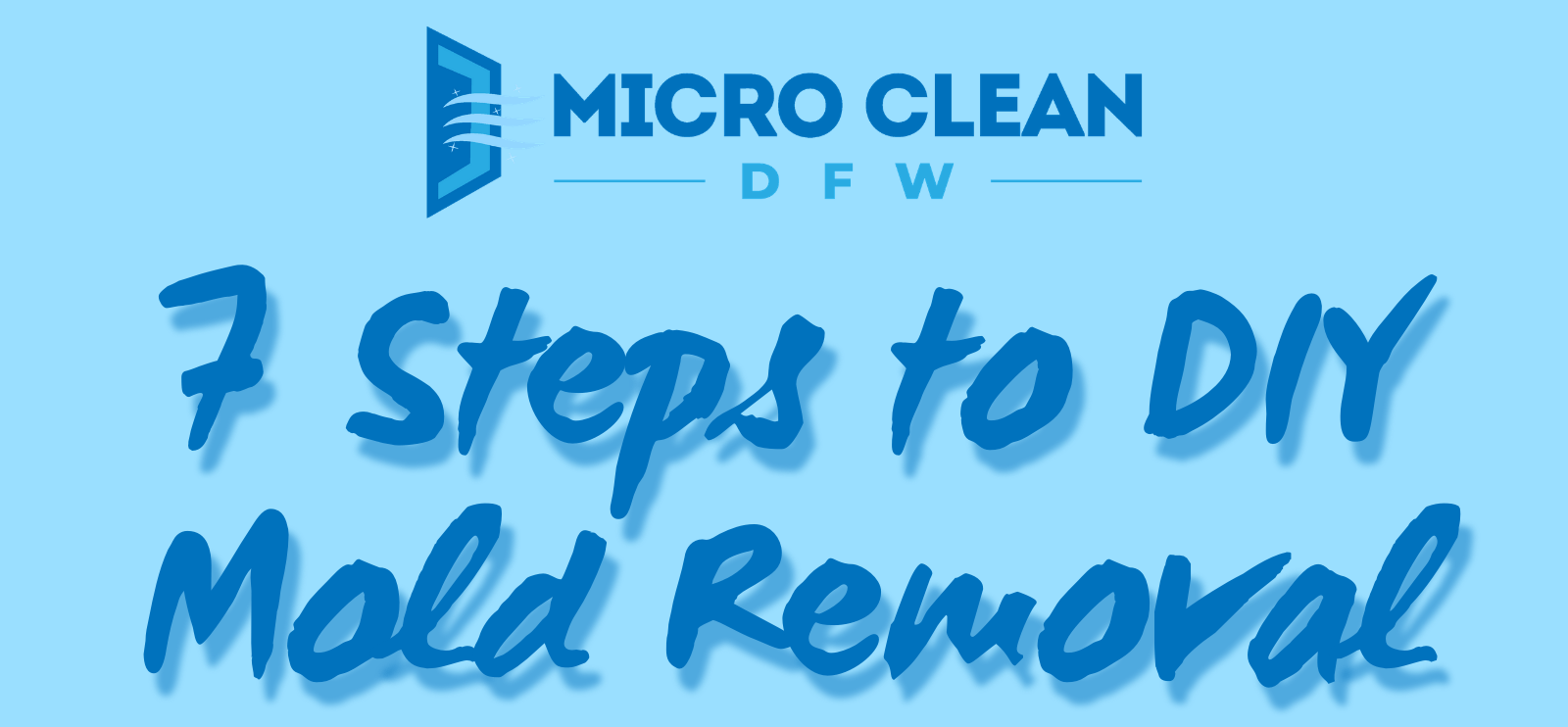 7 Steps to DIY Mold Removal
