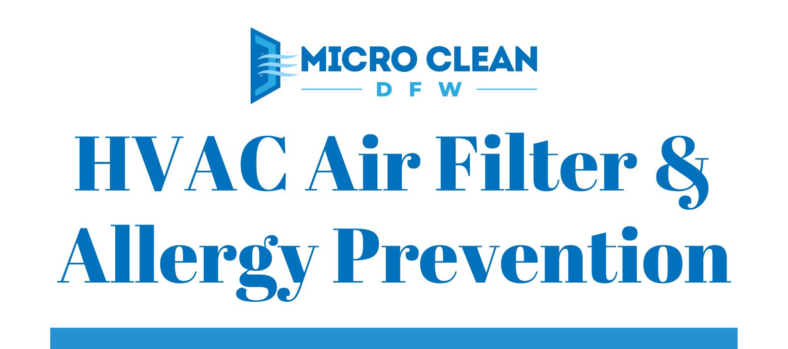 HVAC Air Filter & Allergy Prevention