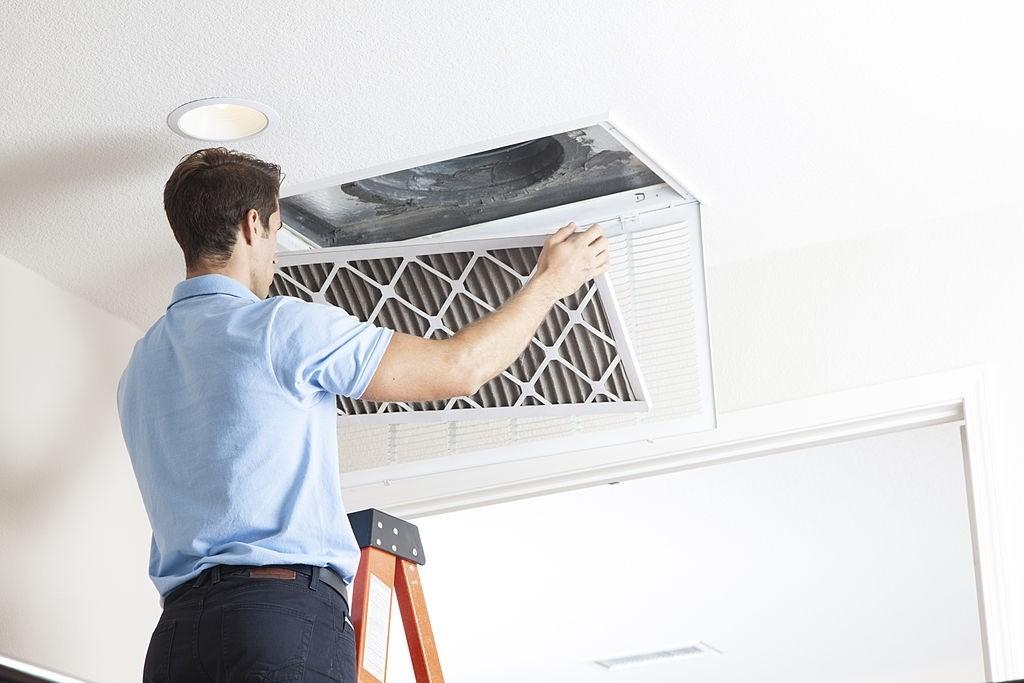 Replace HVAC Air Filter