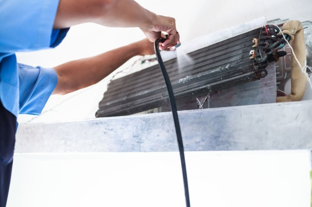 AC Coil Cleaning