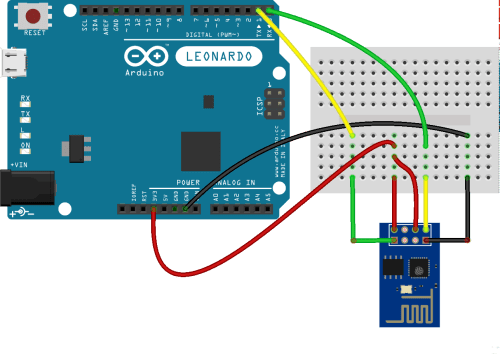 small resolution of esp8266 attached to an arduino leonardo wi fi esp8266 arduino wiring esp8266 fritzing diagram