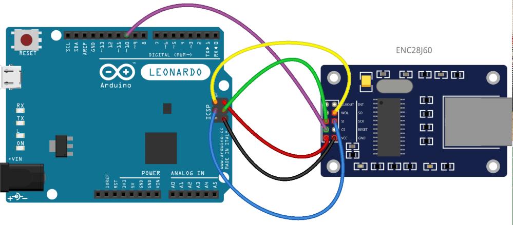 medium resolution of arduino leonardo and spi communications using the enc28j60 ethernet module