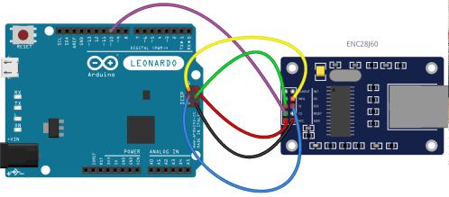 small resolution of arduino leonardo and spi communications using the enc28j60 ethernet module