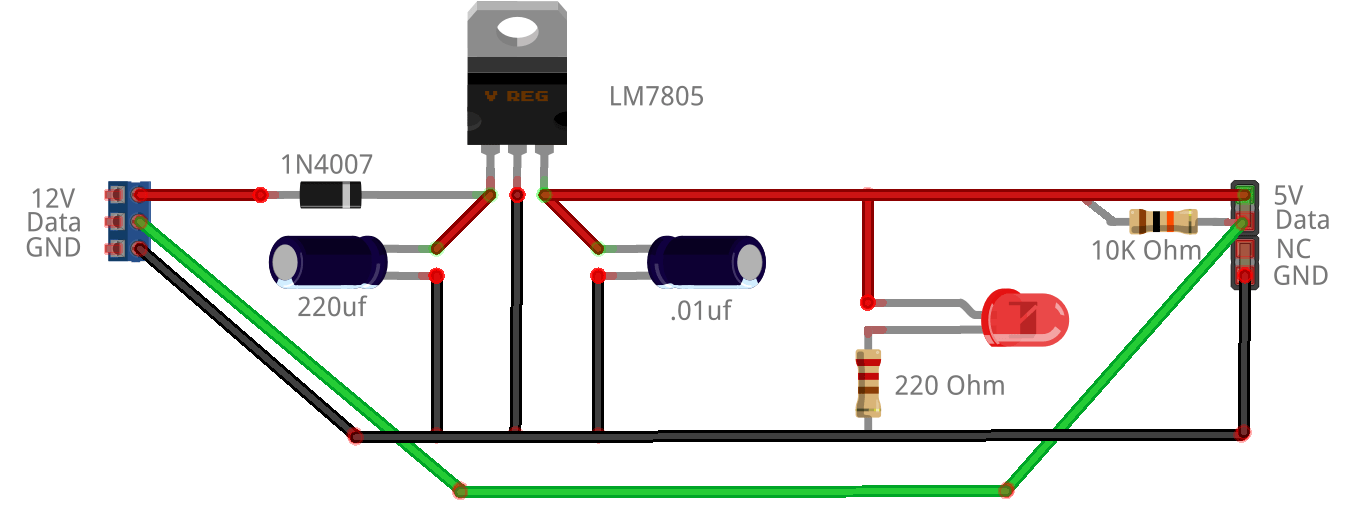 cat 5 cable wiring diagram shurflo water pump microcontroller electronics - computer controlled
