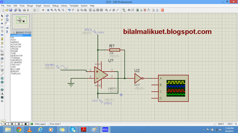 Zero crossing detection circuit diagram