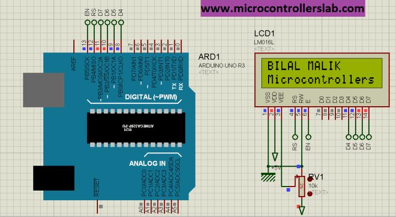 Lcd interfacing with Arduino UNO R3 tutorial