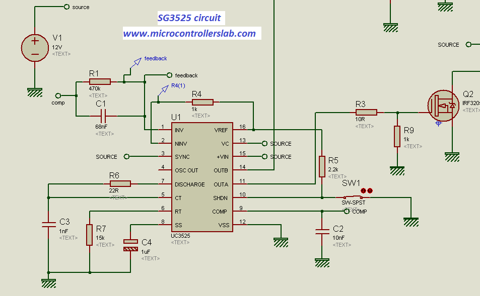 sg3525 circuit diagram