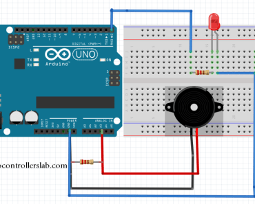 piezoelectric sensor interfacing with Arduino Uno R3