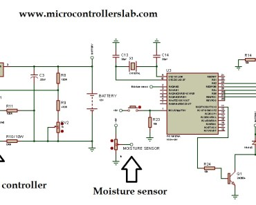 solar power auto irrigation system using pic microcontroller