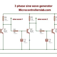 Microcontroller Based Inverter Circuit Diagram Chemistry 12 Worksheet 1 2 Potential Energy Diagrams Answers Pure Sine Wave Generator Schematic Great Installation Of Wiring Three Phase Microcontrollers Lab Rh Microcontrollerslab Com