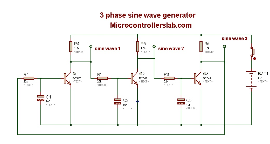 Miraculous Three Phase Sine Wave Generator Wiring 101 Swasaxxcnl